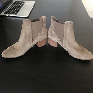 House of Harlow Suede ankle booties